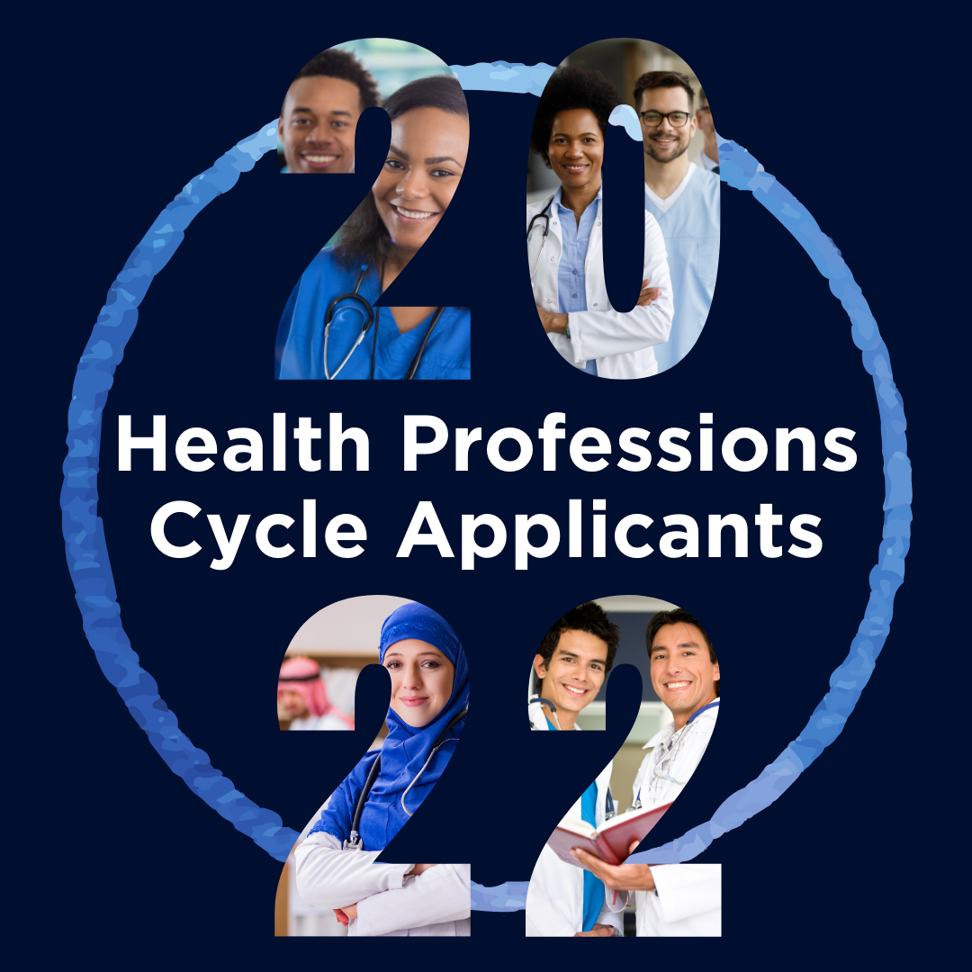 2022 Health Professions Cycle Applicants